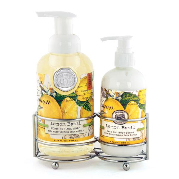 Michel Design Works Hand Care Caddy Lemon Basil