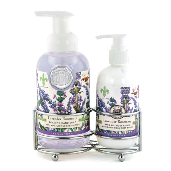 Michel Design Works Hand Care Caddy Lavender Rosemary