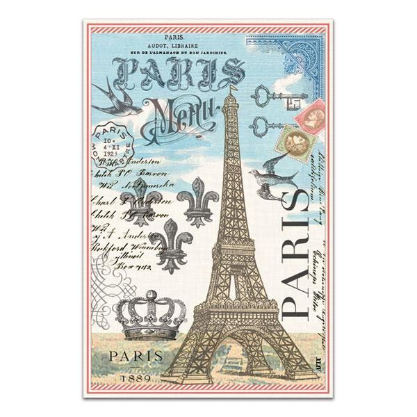Paris Kitchen Towel By Michel Design Works