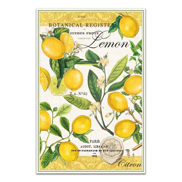 Lemon Kitchen Towel By Michel Design Works