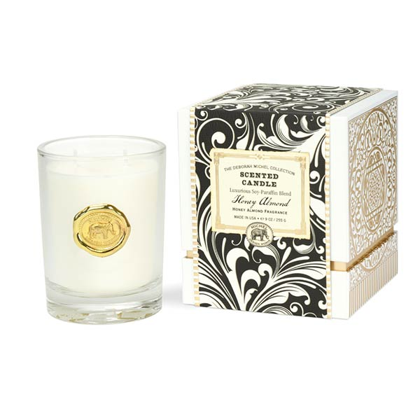 Deborah Michel Collection Scented Candle Honey Almond