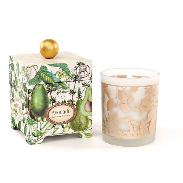 Michel Design Works Large Candle Avocado Collection