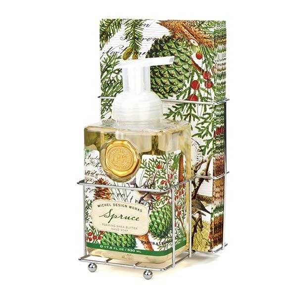 Spruce Foaming Soap Napkins Set By Michel Design Works