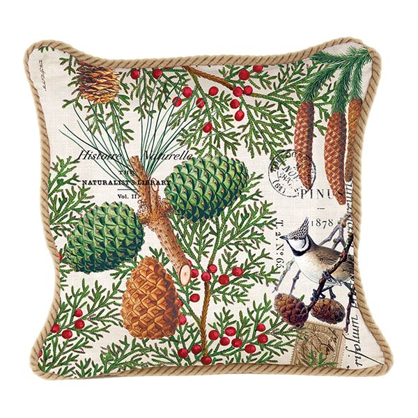 Michel Design Works Square Pillow Spruce Collection