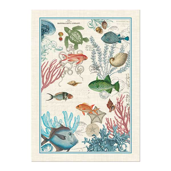 Sea Life Kitchen Towel Shop The Largest Selection Of Michel Design Works ...