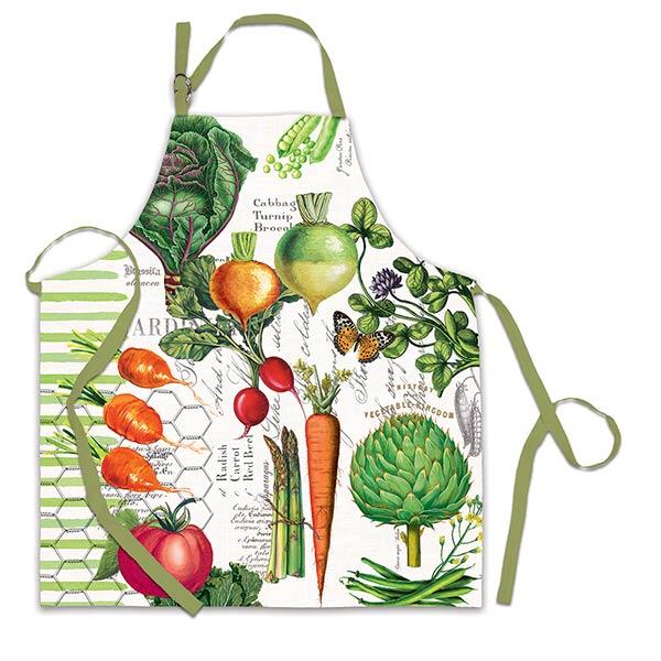 Michel Design Works Chef Apron Vegetable Kingdom