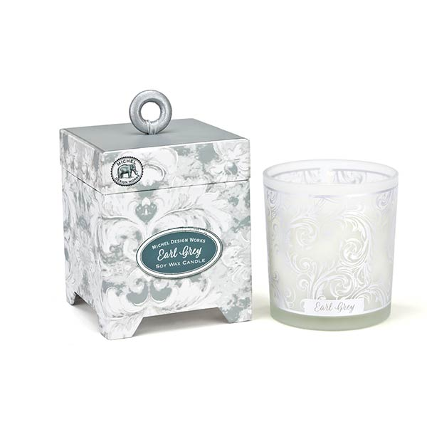 Michel Design Works Small Candle Earl Grey Collection