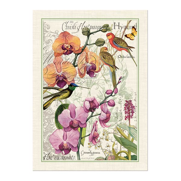 Orchids In Bloom Kitchen Towel Shop The Largest Selection Of Michel Design  Works ...