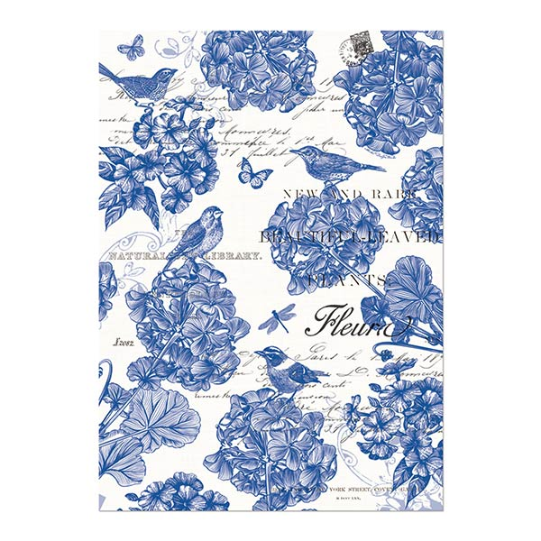 Indigo Cotton Kitchen Towel Shop The Largest Selection Of Michel Design  Works ...