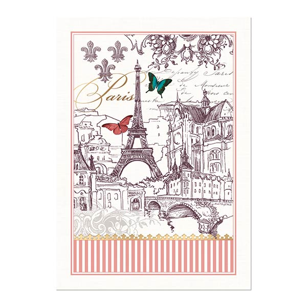 Michel Design Works Kitchen Towel Toujours Paris