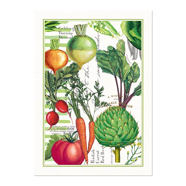 Michel Design Works Kitchen Towel Vegetable Kingdom