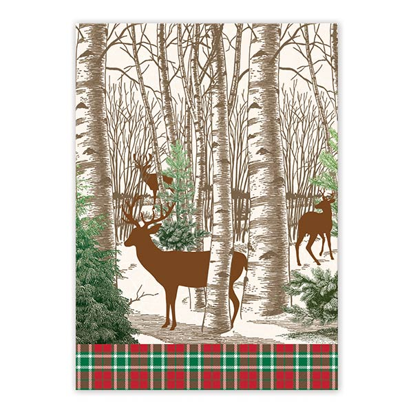 Winter Woods Kitchen Towel Shop The Largest Selection Of Michel Design Works  ...