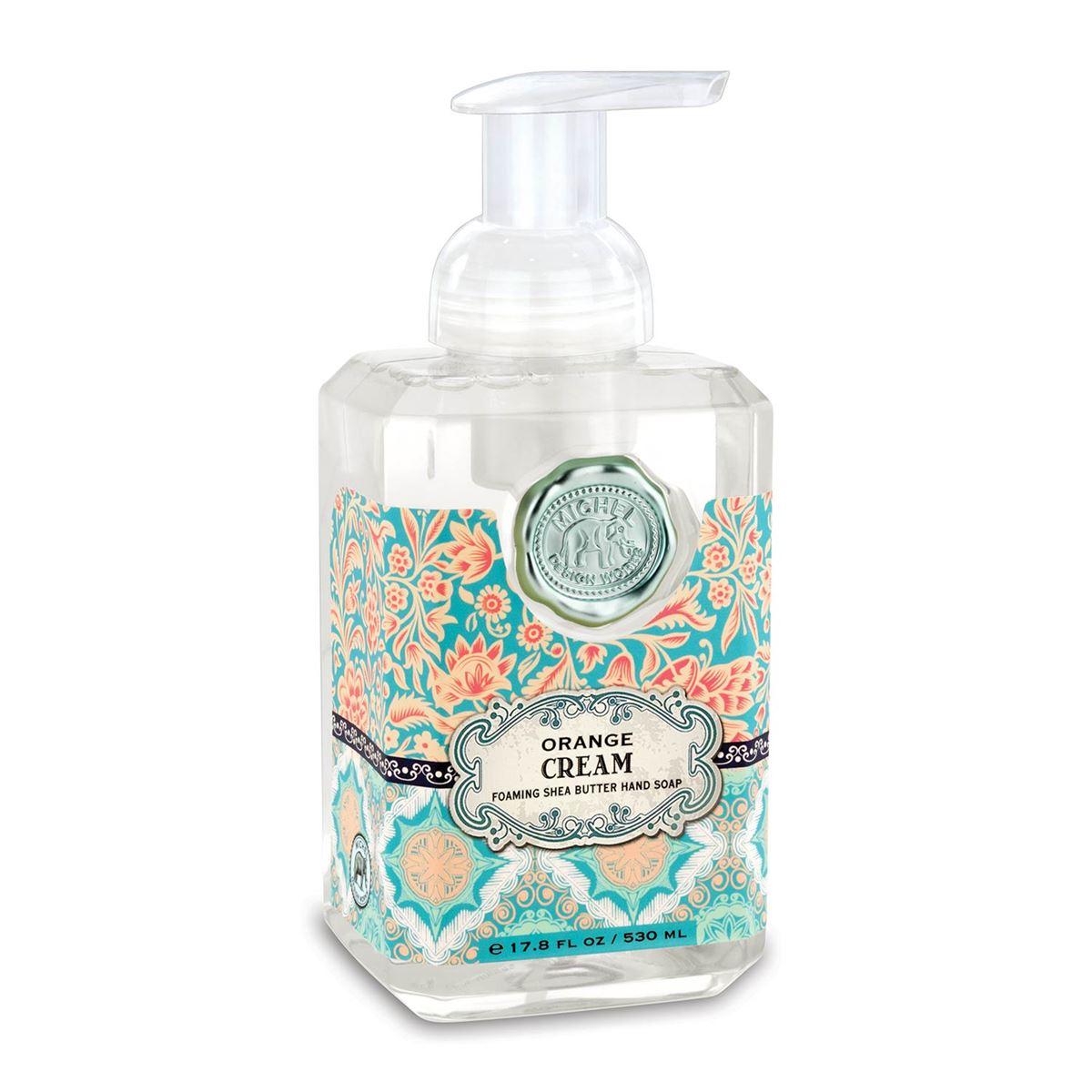 Foaming Hand Soap By Michel Design Works Orange Cream