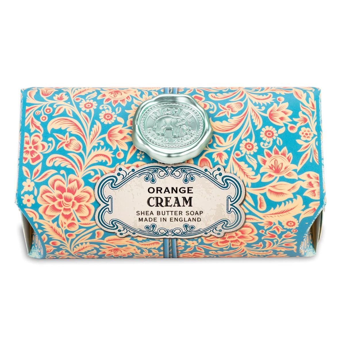 Michel Design Works Large Bath Soap Bars Orange Cream