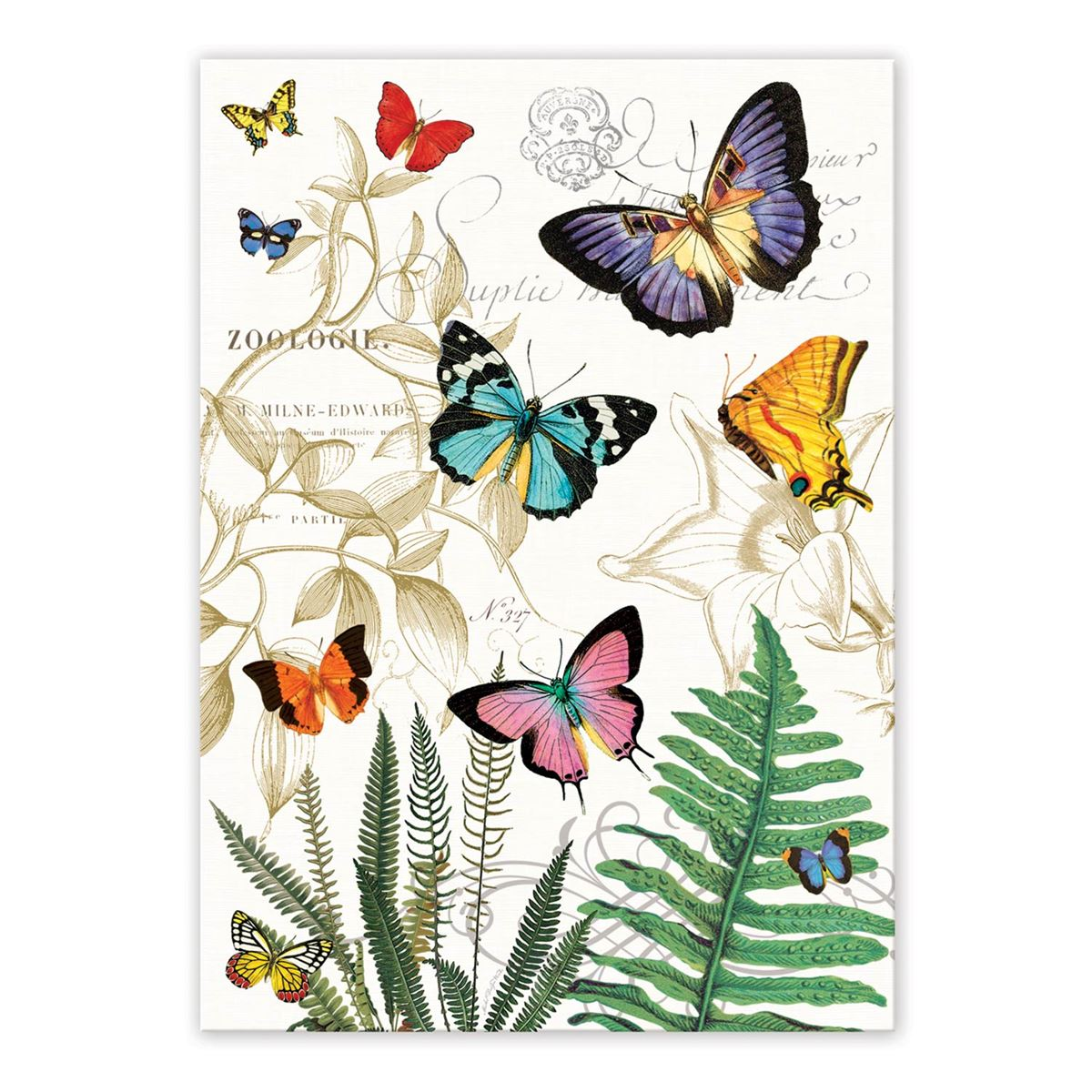 Papillon Kitchen Towel Shop The Largest Selection Of Michel Design Works ...