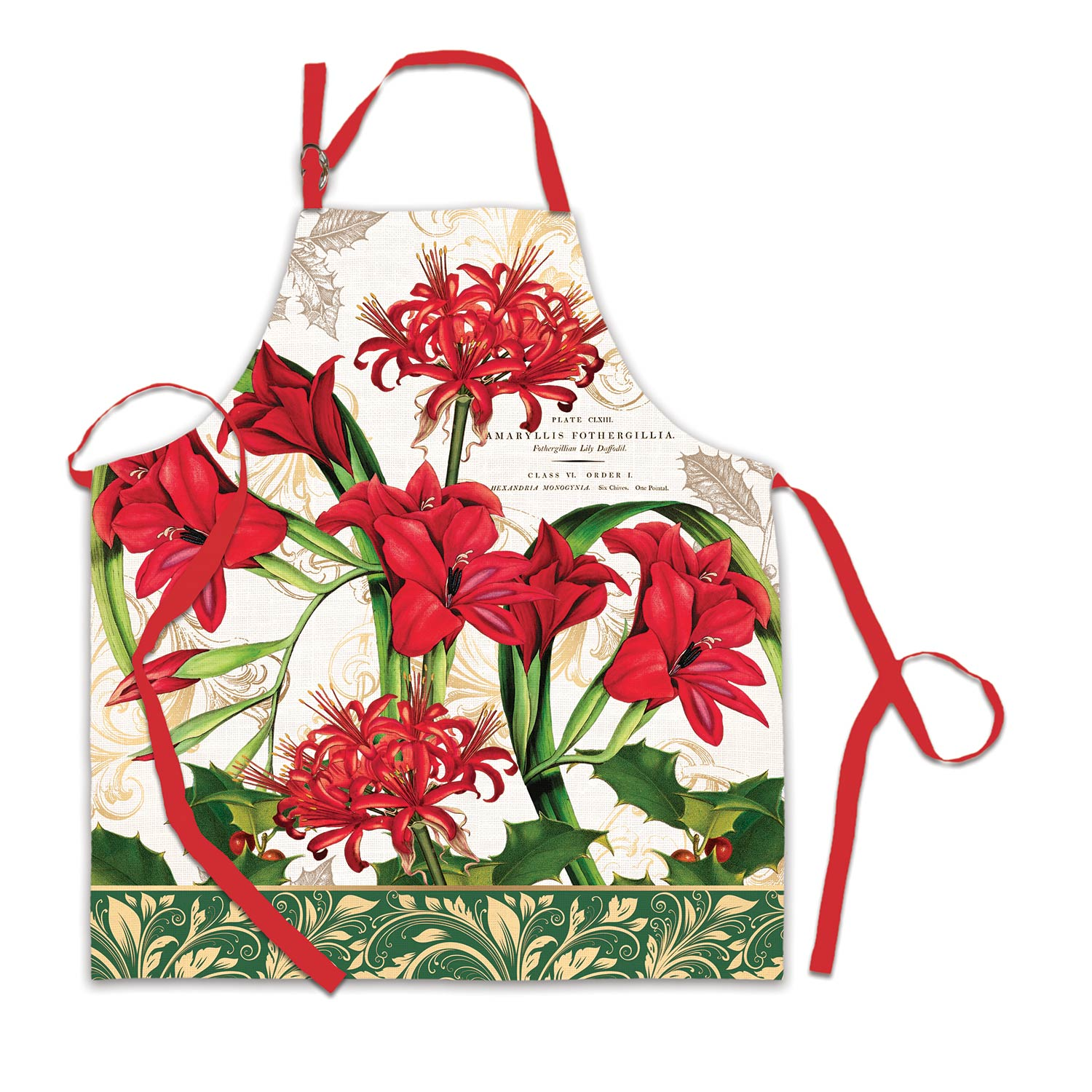 Michel Design Works Chef Apron Christmas Time