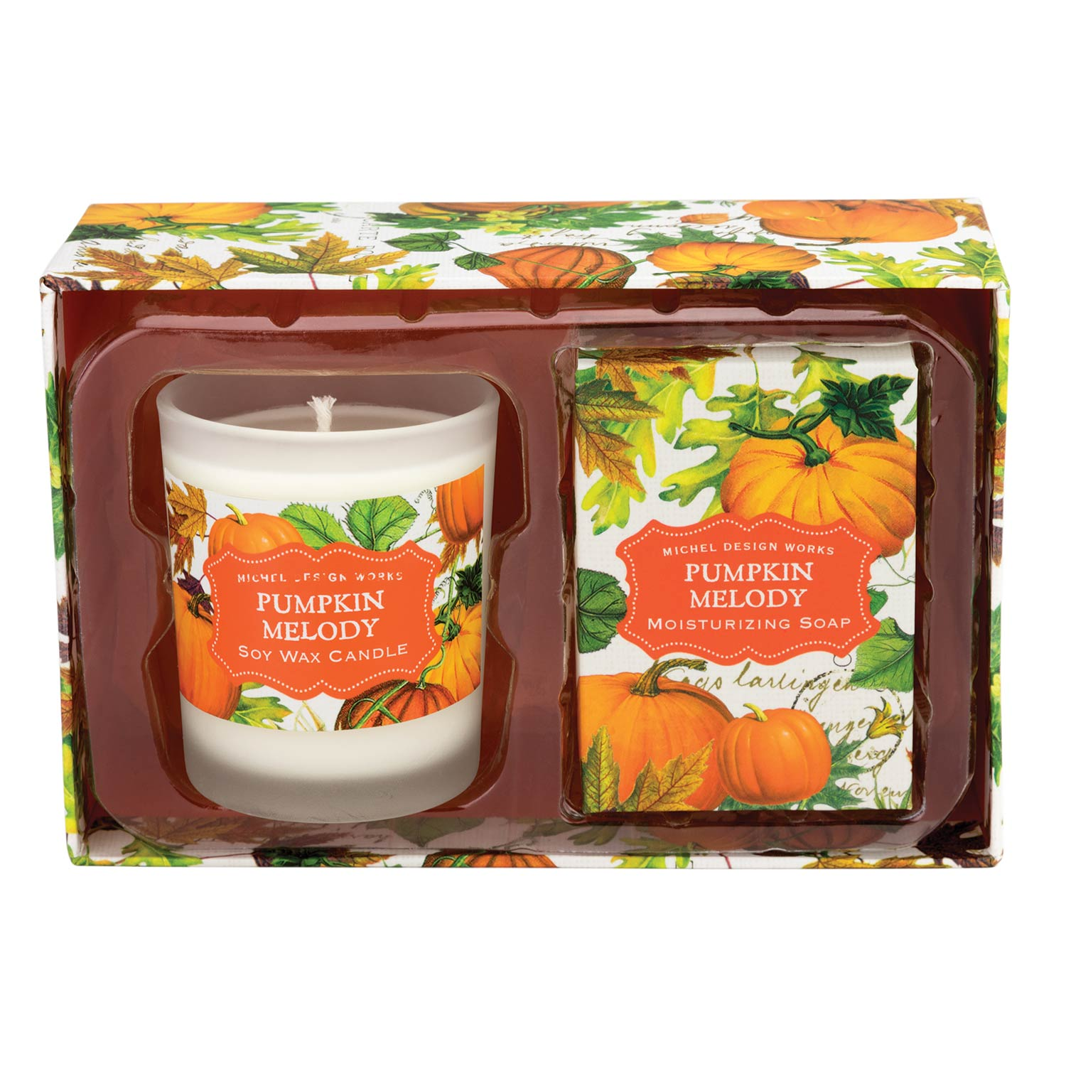 Michel Design Works Candle Amp Soap Gift Sets Pumpkin Melody