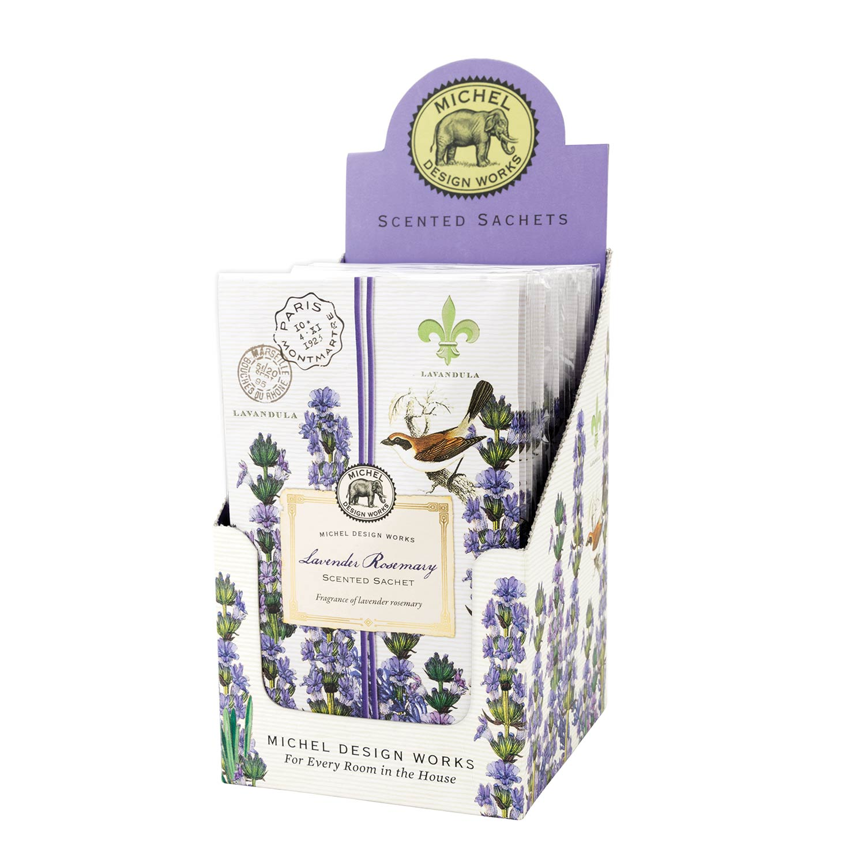 Michel Design Works Scented Sachets Lavender Rosemary