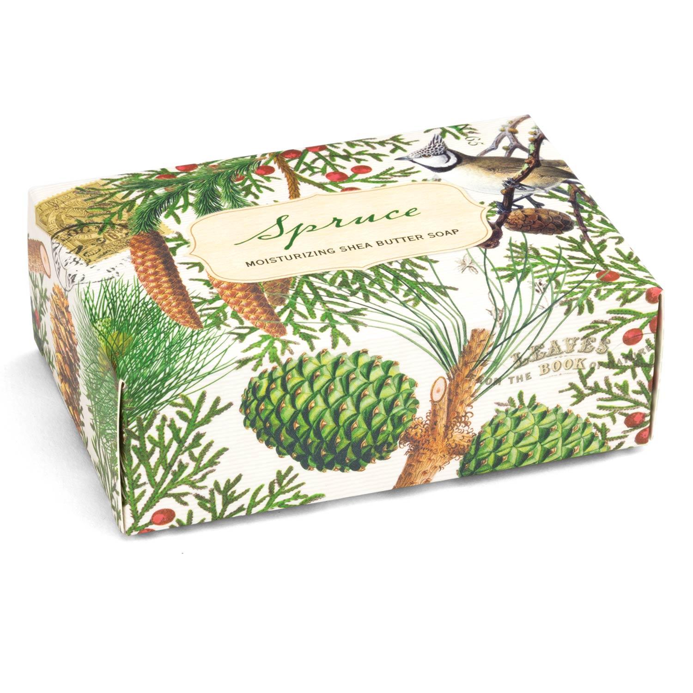 Michel Design Works Boxed Single Soap Spruce