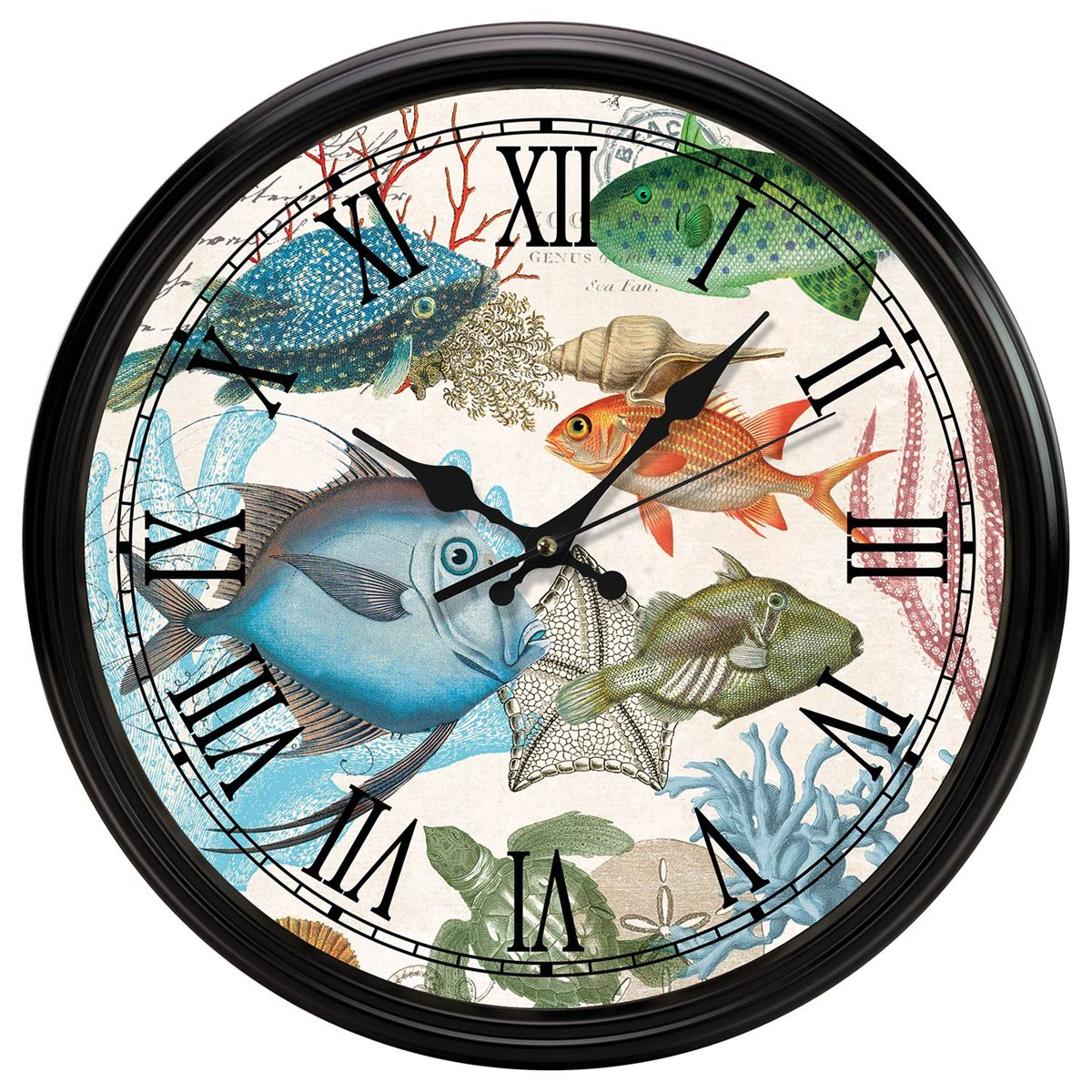 Michel Design Works Kitchen Clock - Sea Life