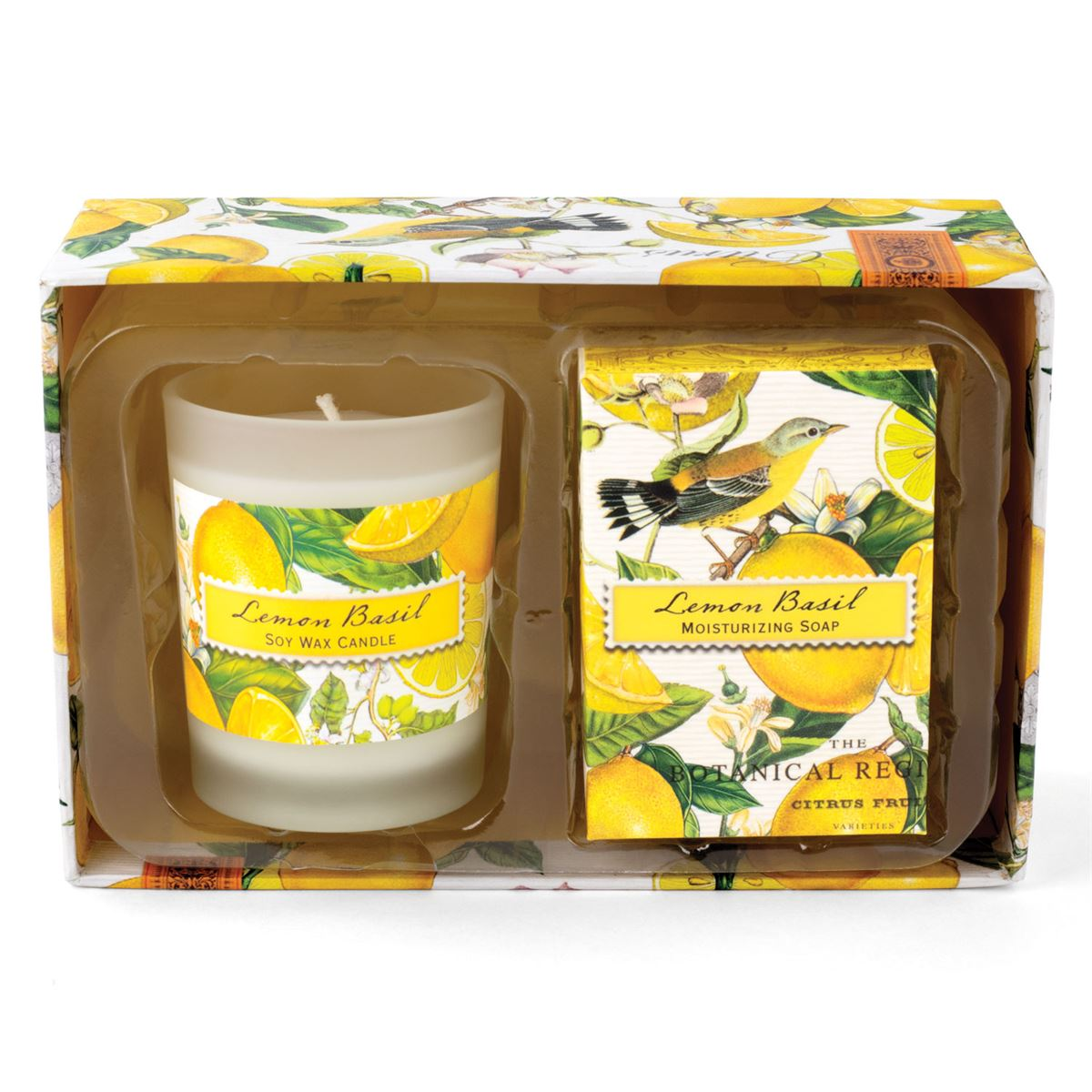 Michel Design Works Candle Amp Soap Gift Sets Lemon Basil