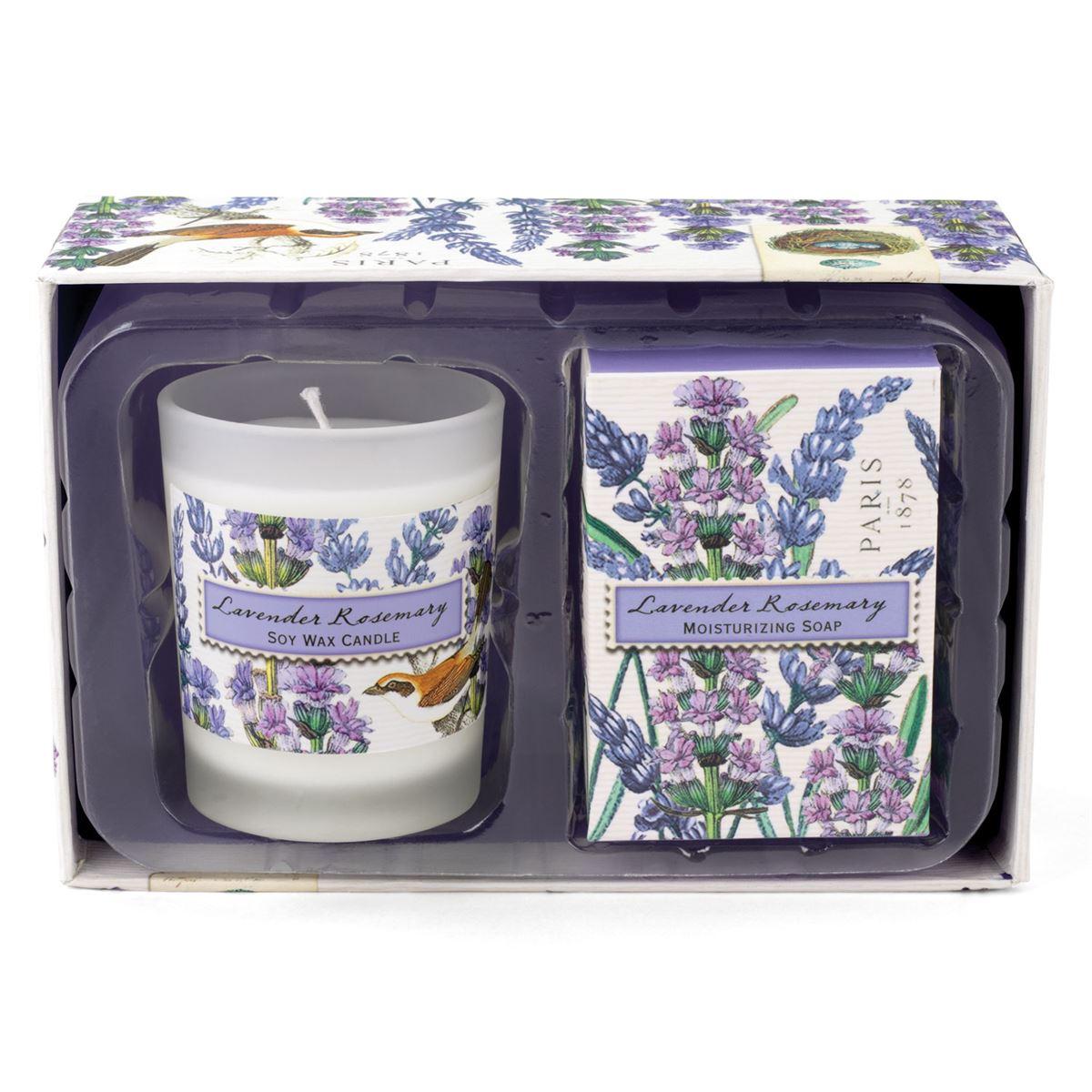 Michel Design Works Candle Amp Soap Gift Sets Lavender