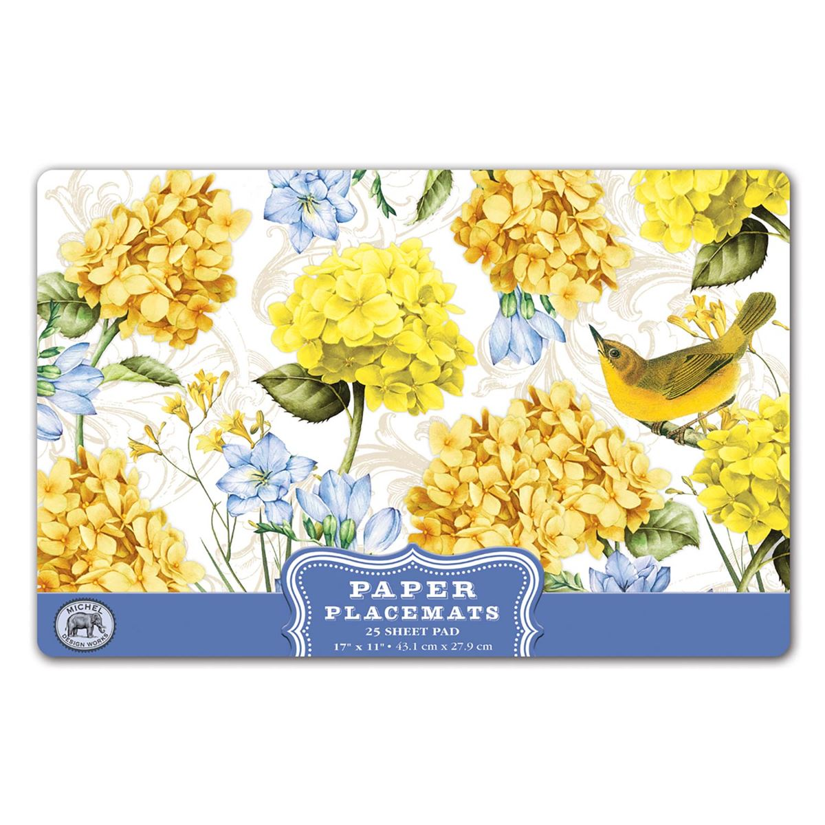 Michel Design Works Paper Placemats Tranquility