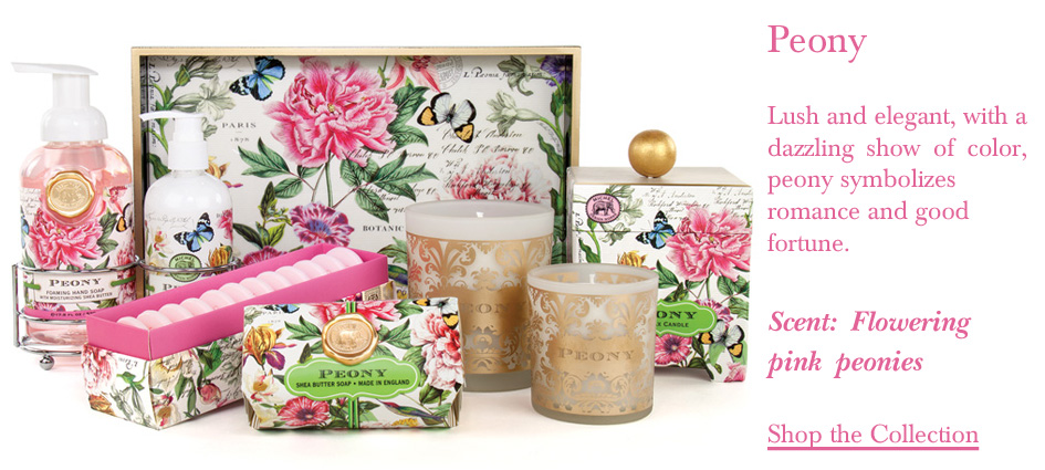 Michel Design Works Peony Collection