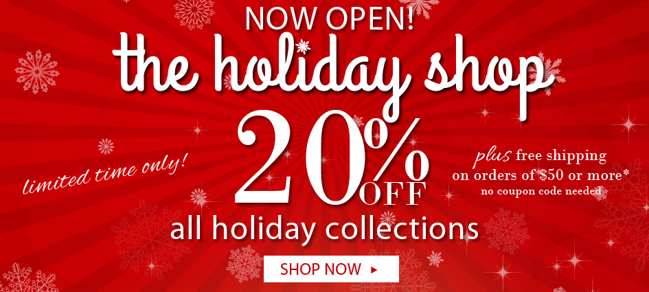 20% Off All Michel Design Works Holday Collections Plus Free Ground Shipping Orders $50 Or More
