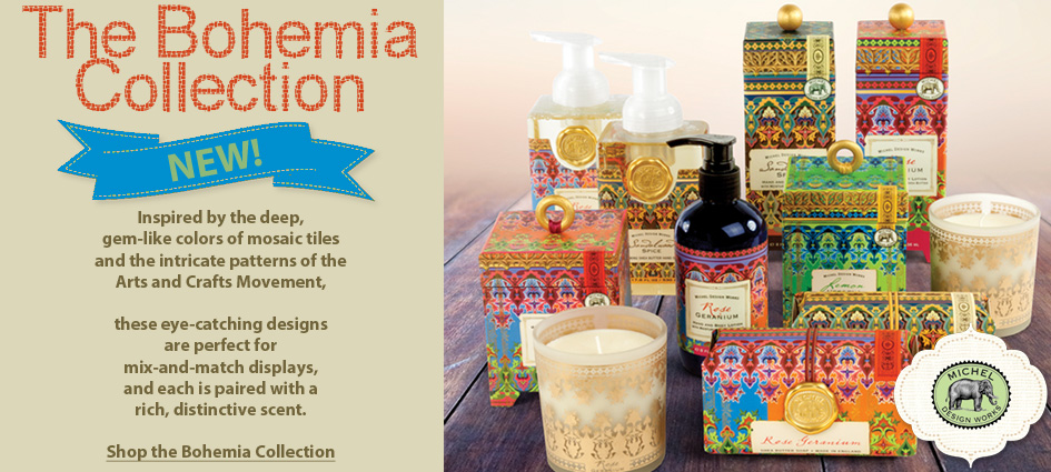 Introducting the Bohemia Collection New From Michel Design Works