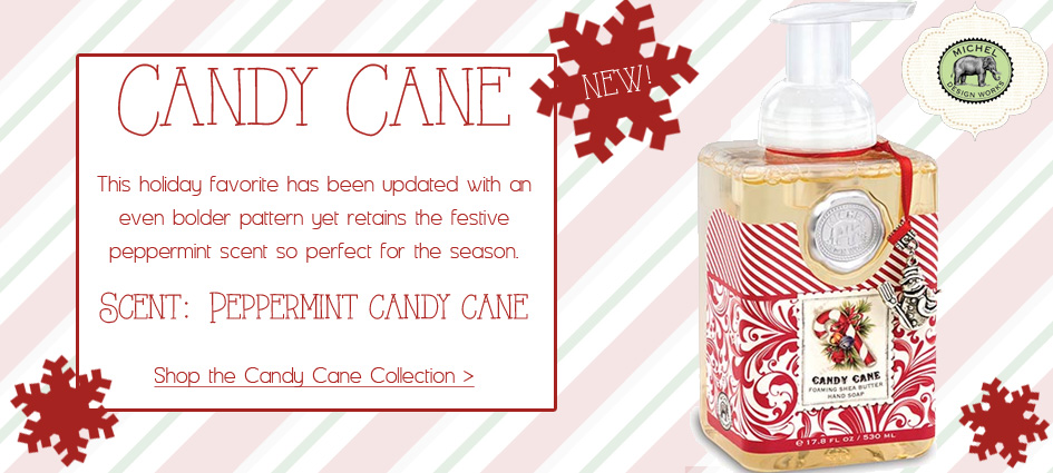 Candy Cane - Updated Collection from Michel Design Works