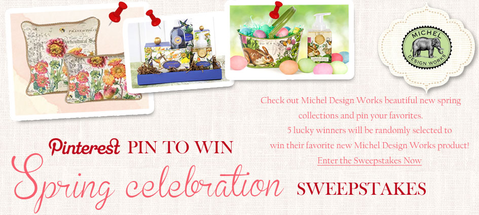 Pin to Win Spring Celebration Sweepstakes