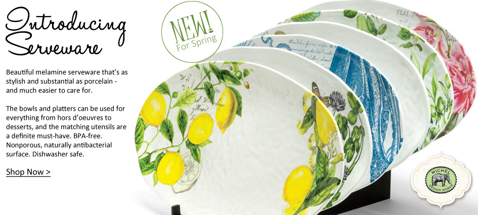 Serveware - New From Michel Design Work