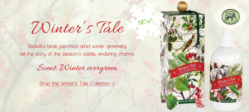 Winter's Tale - New Holiday Collection from Michel Design Works