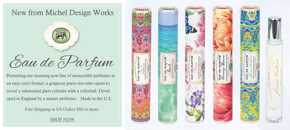 Introducing Rollerball Parfum - New from Michel Design Works