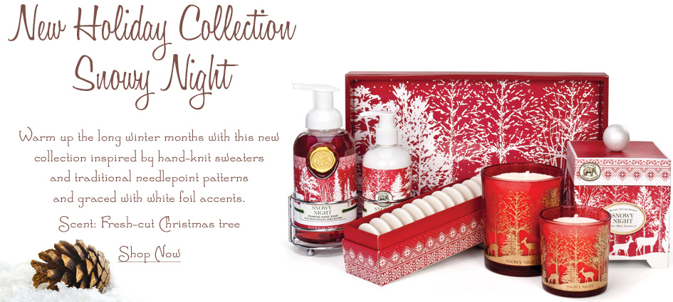 Snowy Night - New Holiday Collection From Michel Design Works