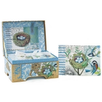 Bird Nest Memento Box Note Cards