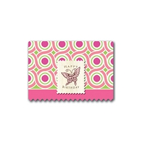 Birthday Pink Dots Art Cards