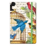 Bird Cage Pocket Journal