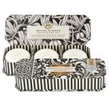Black Florentine Honey Almond Guest Soap Set