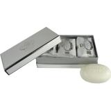 Castelbel Portus Cale White/Silver Edition Guest Soap Set