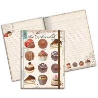 Au Chocolat Hardbound Journal
