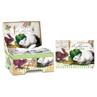 Bunnies Memento Box Notecards