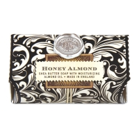 Black Florentine Honey Almond Large Bath Soap Bar