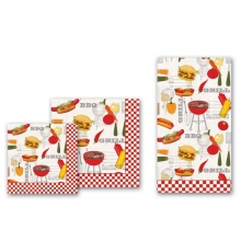 Barbecue Luncheon Napkins