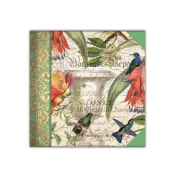 Enchanted Garden Notepad Book