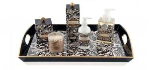 Michel Design Works Black Florentine Honey Almond Collection