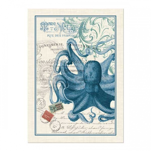 Michel Design Works Kitchen Towel Octopus Collection
