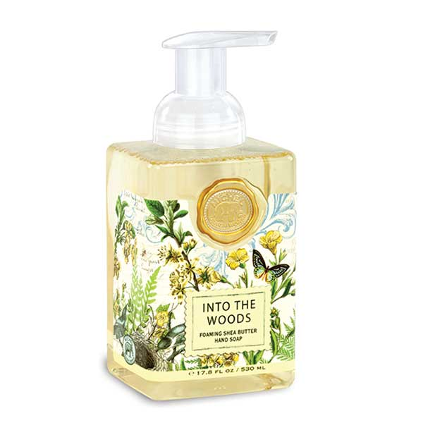 Michel Design Works Foaming Hand Soap Into The Woods