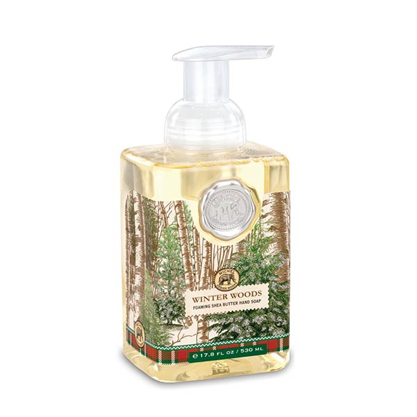 Foaming Hand Soap By Michel Design Works Winter Woods